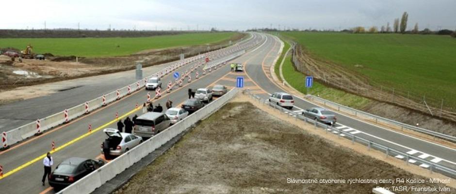 Rýchlostná cesta R4 Košice – Milhosť
