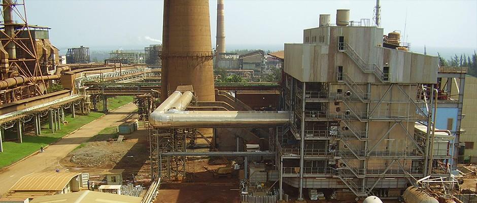 Elektráreň v niklovej huti Moa, Kuba
