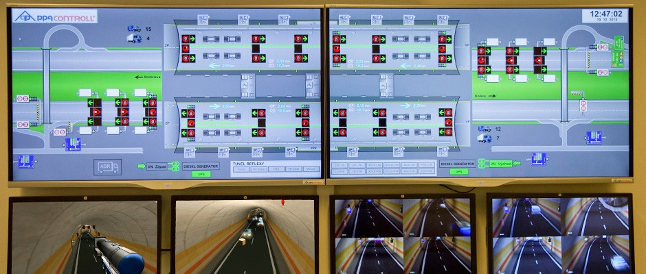 Tunnel control simulator