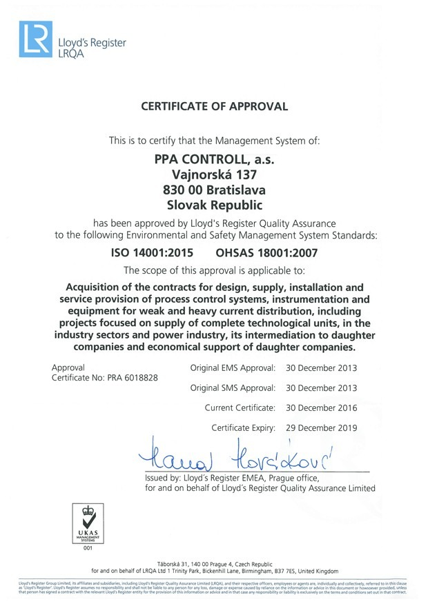 Management systems | PPA CONTROLL