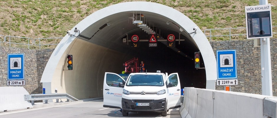 The Považský Chlmec Tunnel