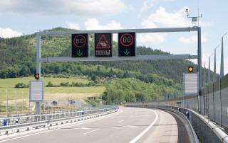 LED premenné dopravné značenie