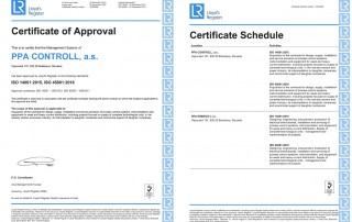 This is to certify that the Management System of: