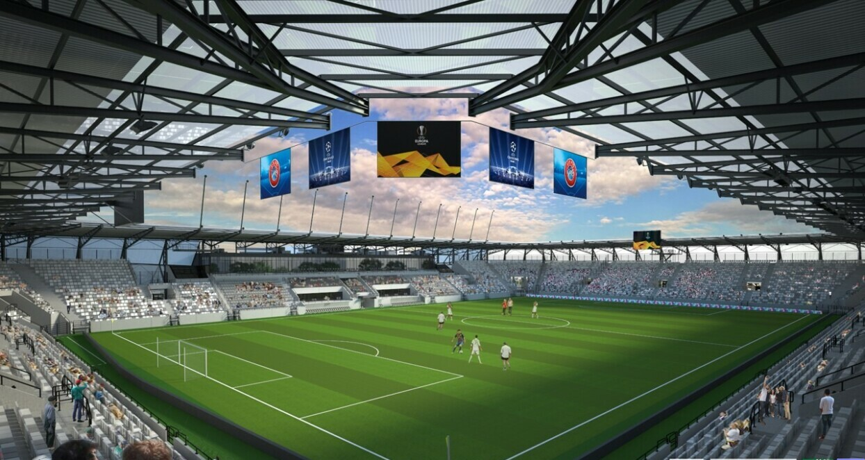 futbalovy stadion kosice